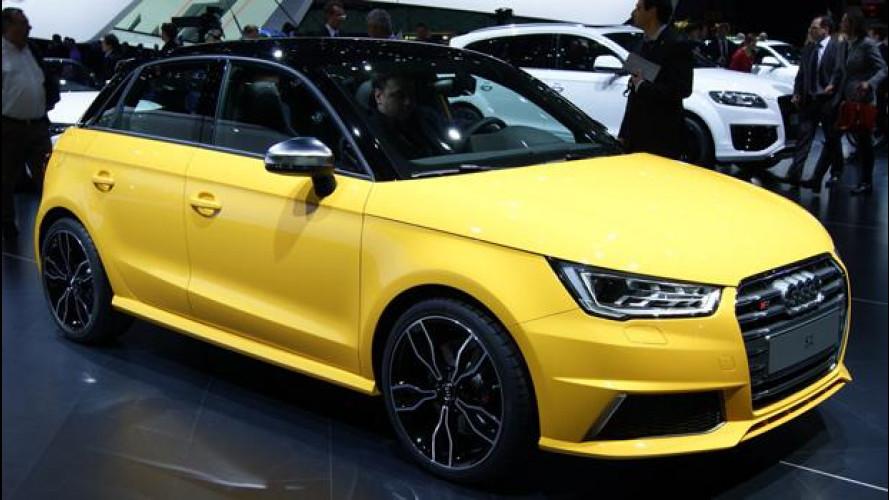 """Audi S1, una piccola """"bomba"""" al Salone di Ginevra"""