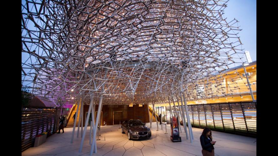 EXPO Milano 2015, Jaguar XE fa da porta bandiera