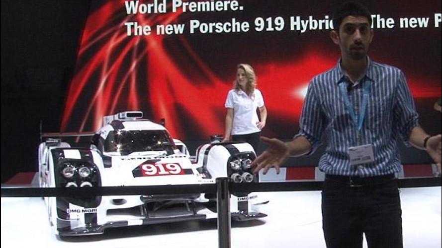 Porsche 919 Hybrid, tecnologia pura al Salone di Ginevra