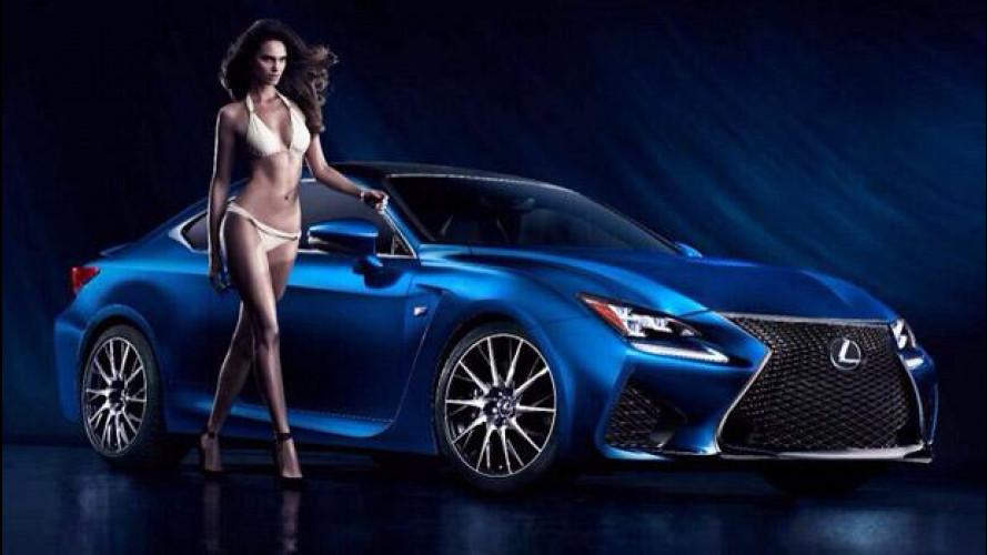 Lexus RC F e la supermodella brasiliana [VIDEO]