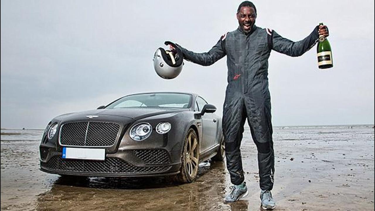 [Copertina] - Bentley e Idris Elba insieme per un record di velocità