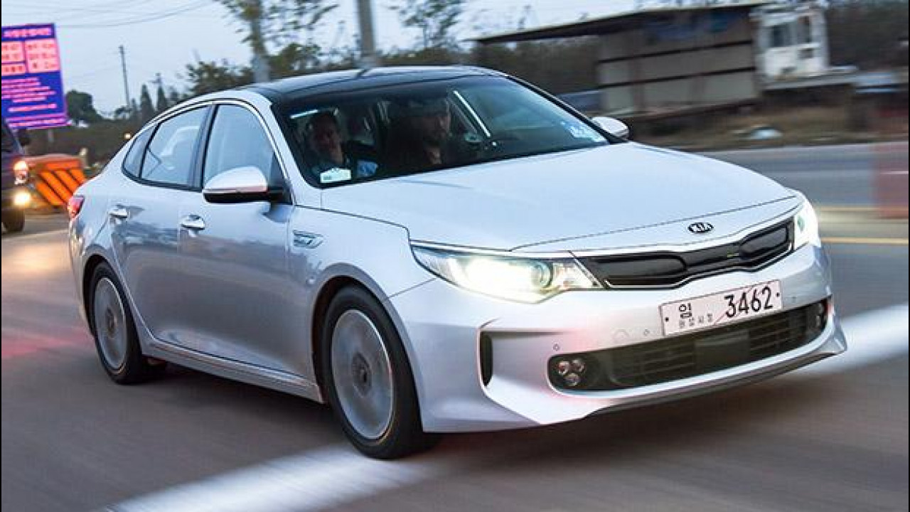 [Copertina] - Nuova Kia Optima, in arrivo Hybrid e Plug-in