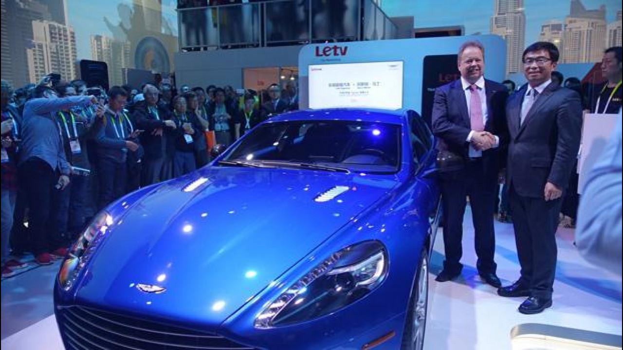 [Copertina] - Aston Martin Rapide S, al CES diventa connessa