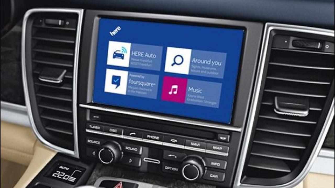 [Copertina] - Audi, BMW e Mercedes verso la guida autonoma con le mappe di Nokia