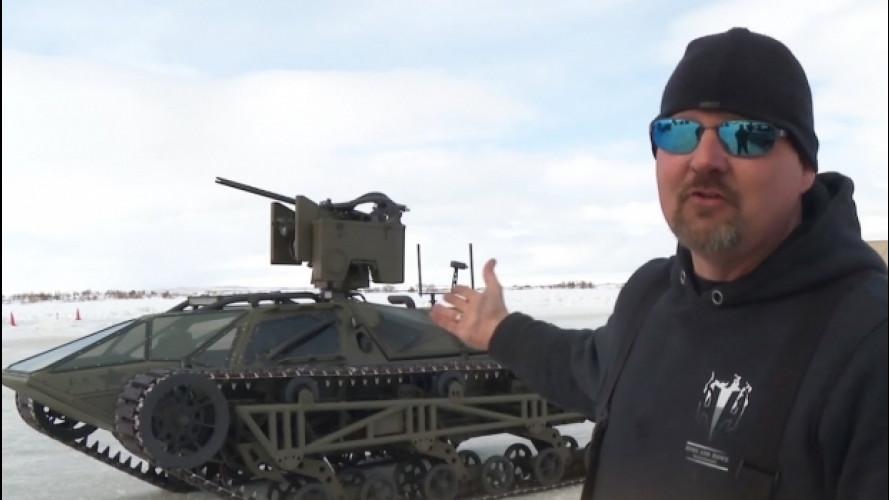 Fast & Furious 8, sul ghiaccio a 100 km/h con un vero carro armato [VIDEO]