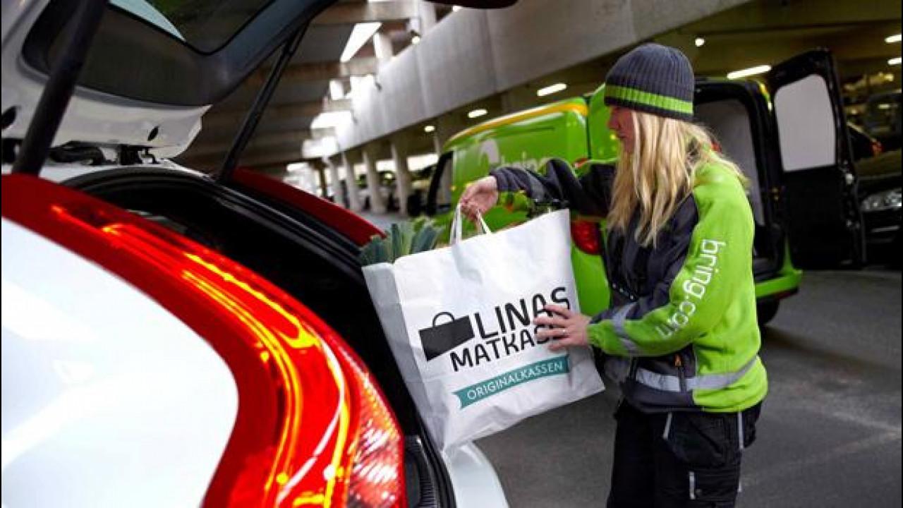 [Copertina] - Acquisti online: Volvo sperimenta la consegna in auto