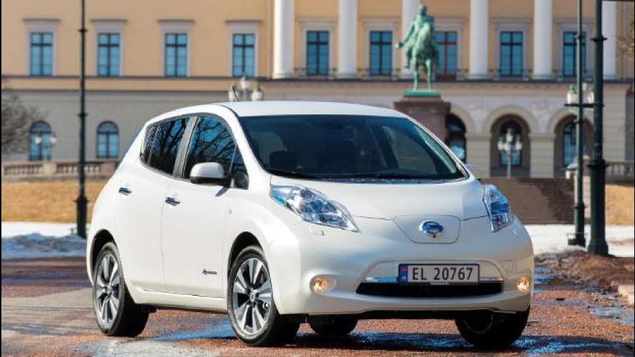 Nissan Leaf, aumento dell'autonomia in vista