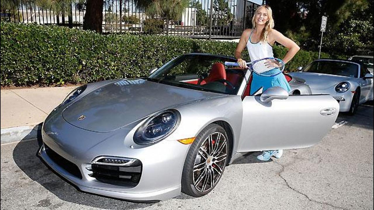 [Copertina] - Porsche 911, il nuovo spot con Maria Sharapova [VIDEO]