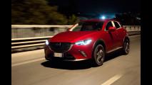 Mazda CX-3, tutto in una notte
