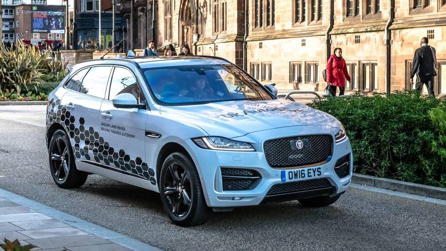 Self-driving Jaguars have been sent to Coventry – for testing
