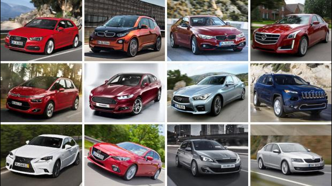 [Copertina] - World Car of the Year 2014, le semifinaliste