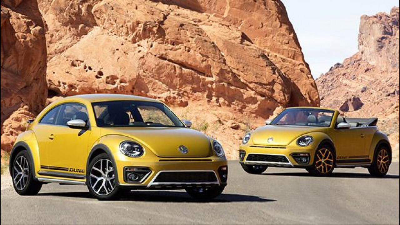 [Copertina] - Volkswagen Beetle Dune, il Maggiolino delle sabbie