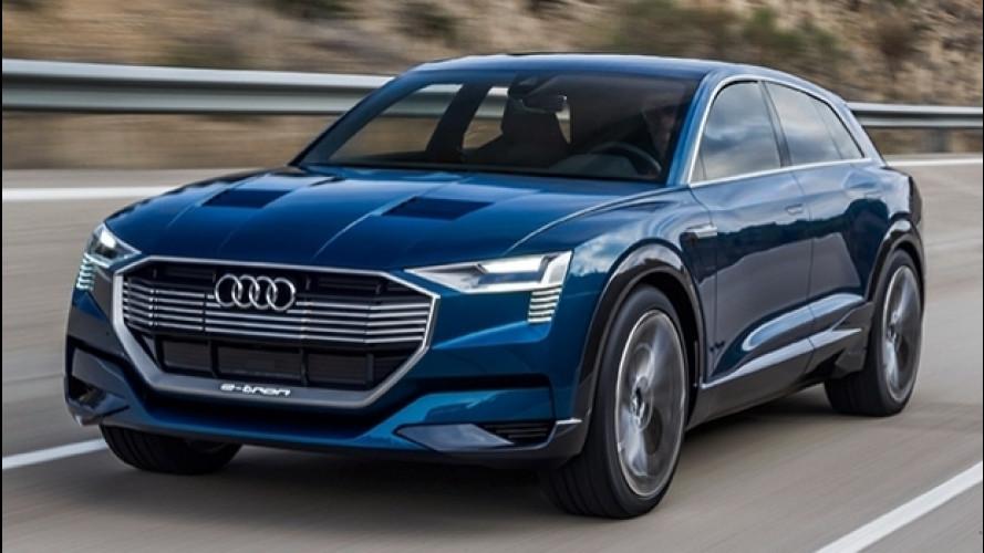 Audi e-tron Quattro, il SUV elettrico è già ordinabile in Norvegia