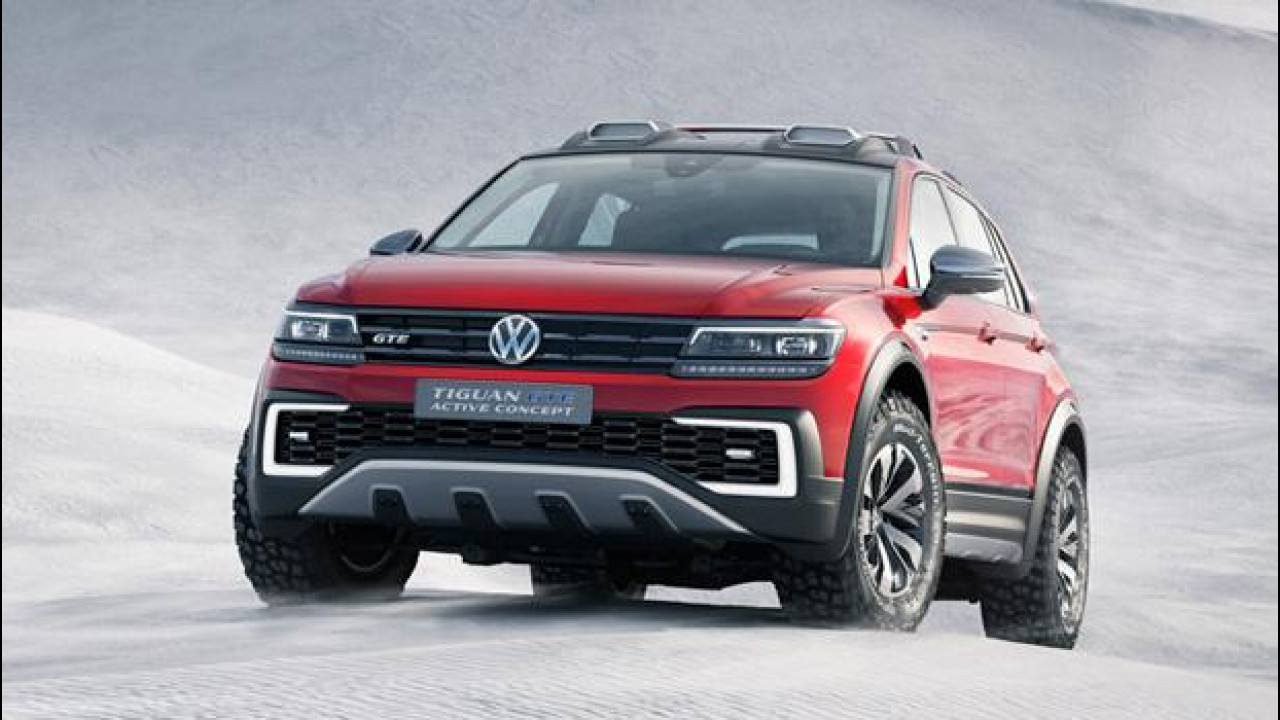 [Copertina] - Volkswagen Tiguan GTE Active Concept: off-road, sportiva e ibrida [VIDEO]