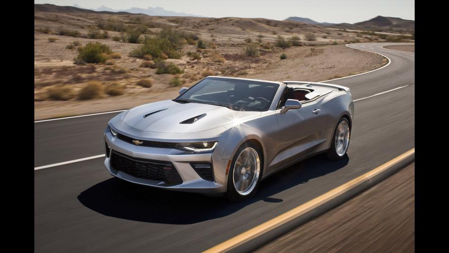 Nuova Chevrolet Camaro Cabrio, a cielo aperto con leggerezza