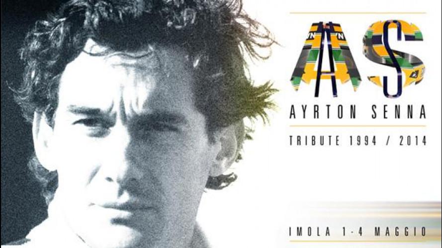 Ayrton Senna Tribute, tutti a Imola per ricordarlo