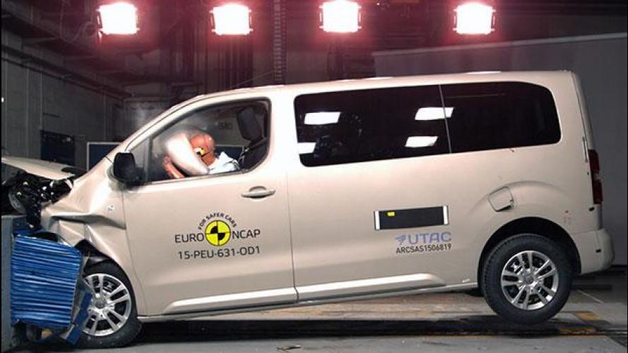 PSA e Toyota, 5 stelle Euro NCAP per i nuovi van