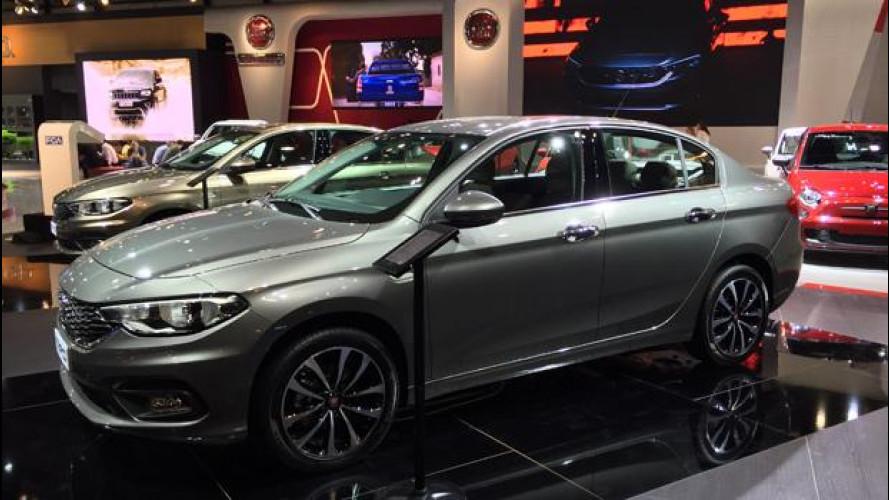 Nuova Fiat Tipo, debutto in anteprima a Dubai