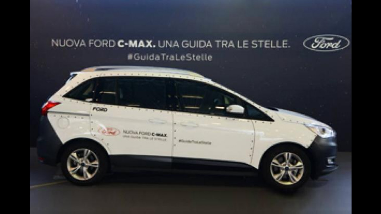 [Copertina] - Ford C-Max, a Bimbinfiera si è trasformata in Shuttle