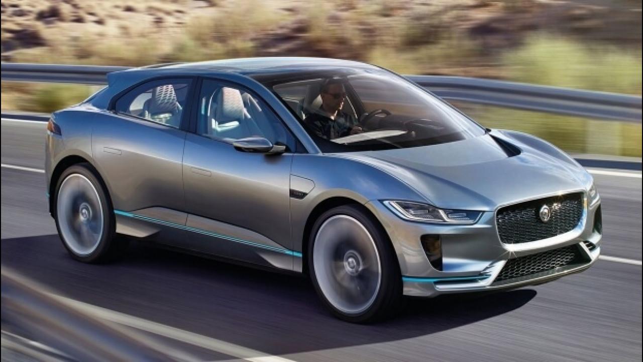 [Copertina] - Jaguar I-Pace, avviata la produzione del SUV elettrico