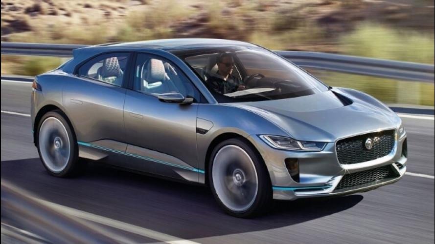 Jaguar I-Pace, avviata la produzione del SUV elettrico