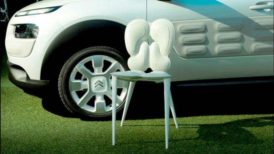 Citroen C4 Cactus, alla Design Week si fa sedia [VIDEO]