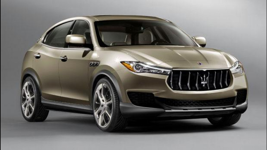 """Maserati Kubang, tra due anni il SUV """"piccolo"""" del Tridente"""
