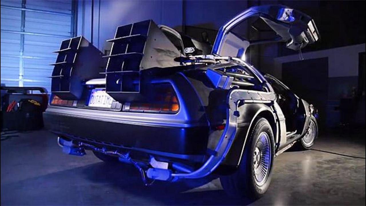 [Copertina] - Ritorno al Futuro, il restauro della DeLorean è un documentario [VIDEO]