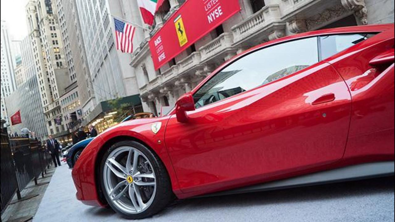 """[Copertina] - Ferrari: esordio """"di corsa"""" in Borsa, azioni a 60 dollari"""
