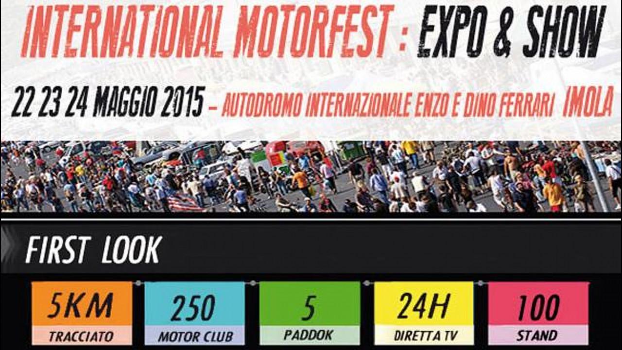 [Copertina] - International Motorfest, ad Imola 3 giorni di auto e beneficenza