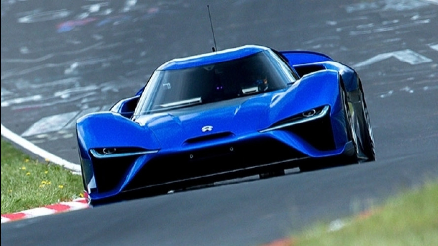 Nurburgring, l'auto più veloce è elettrica [VIDEO]