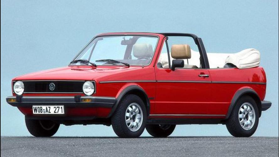 """Volkswagen Golf Cabriolet, la """"ribelle"""""""
