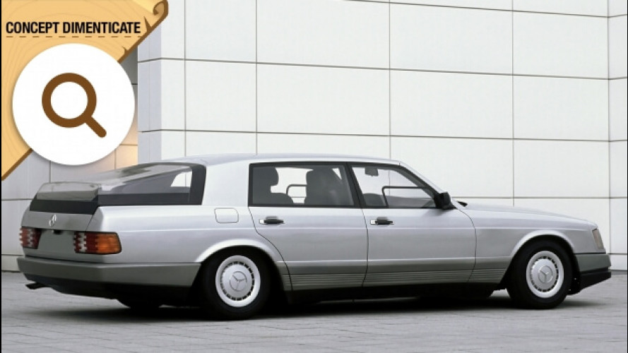 Mercedes Auto 2000, la CLS di quarant'anni fa