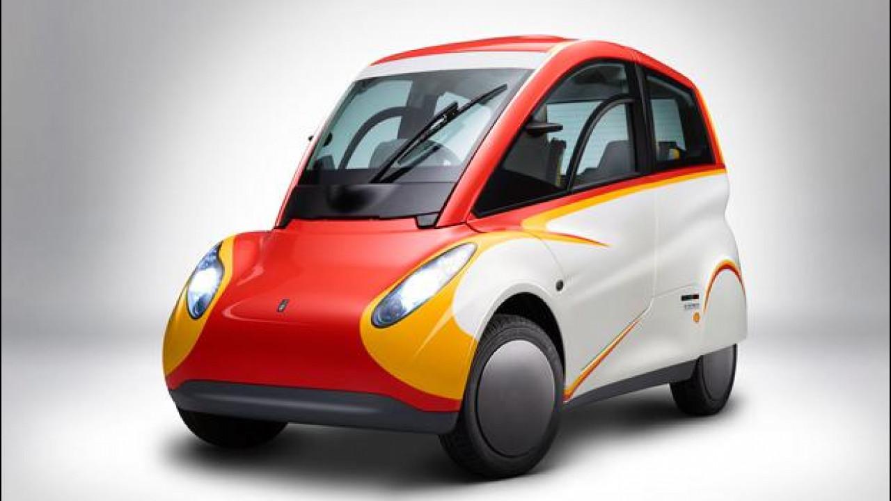 [Copertina] - Shell si inventa l'auto che fa 38 km con 1 litro
