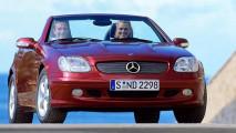 mercedes slk storia della roadster a tetto rigido