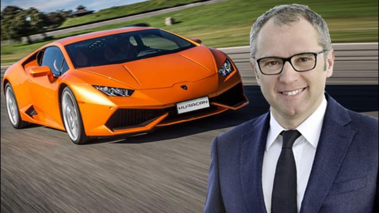 [Copertina] - Lamborghini, la guida passa a Stefano Domenicali