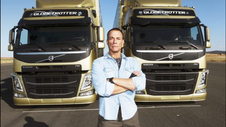 Volvo Trucks riporta in auge la celebre spaccata di Jean Claude Van Damme