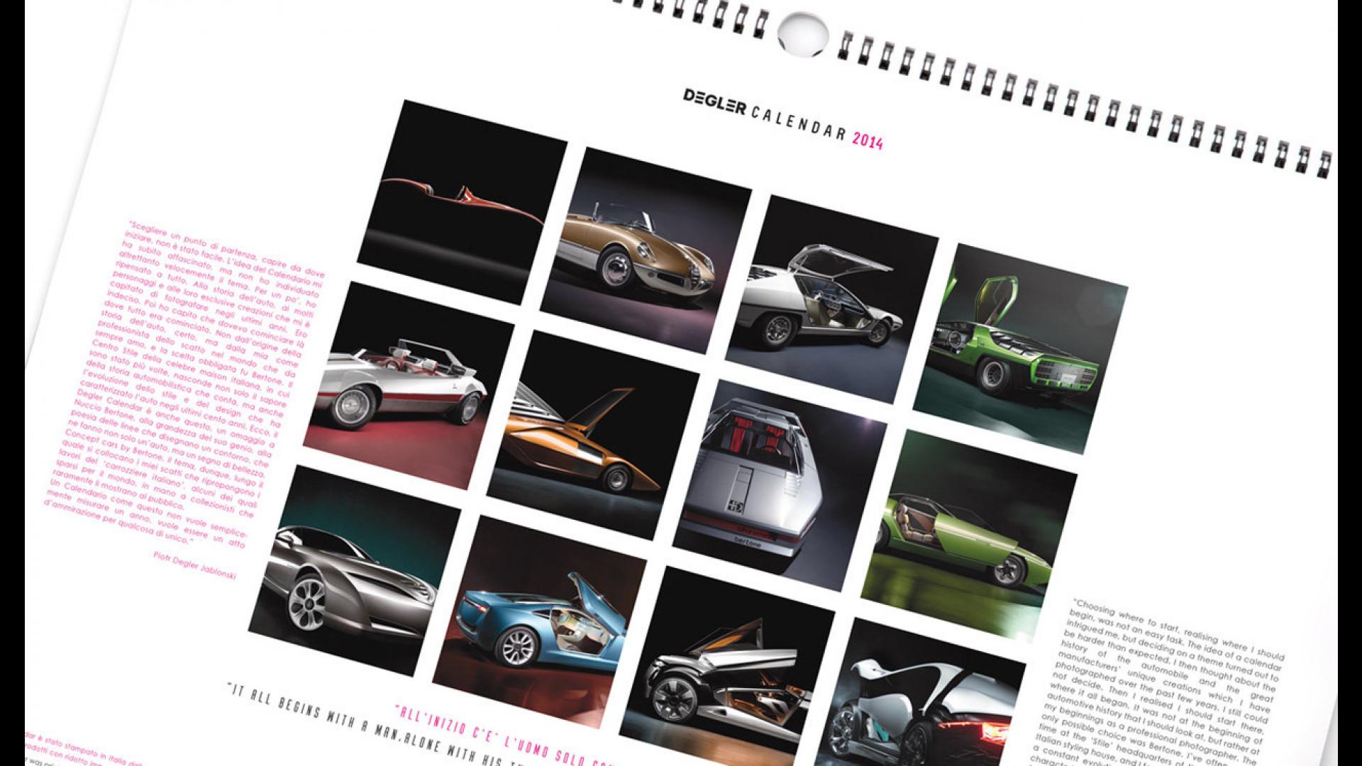 Calendario Auto.Il Calendario Auto Diventa Un Oggetto D Arredo