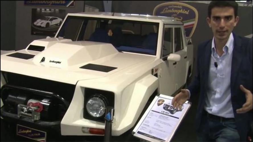 Lamborghini e il SUV LM 002 ad Auto e Moto d'Epoca 2013
