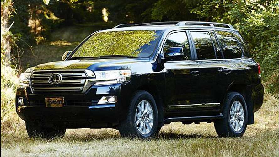 Toyota Land Cruiser, il restyling del gigante