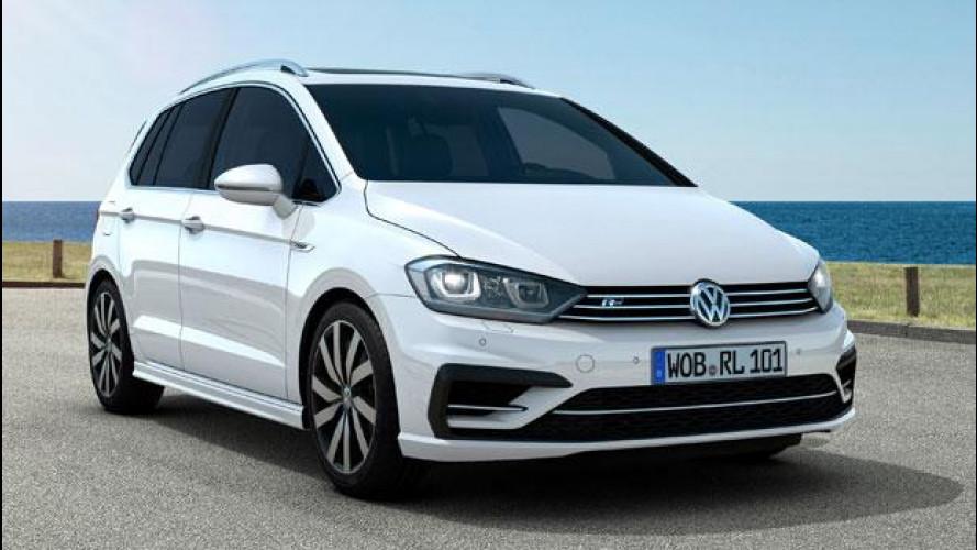Volkswagen Golf Sportsvan R-Line, sembianze sportive