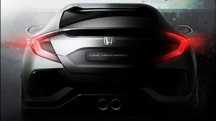 Honda Civic Hatchback Prototype, decima generazione in anteprima [VIDEO]