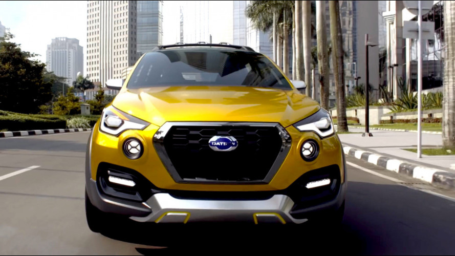Datsun GO-cross, il SUV compatto presentato in India