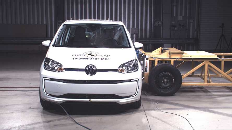 Euro NCAP: VW e-up!, Skoda CITIGOe iV and SEAT Mii EV get only 3 stars