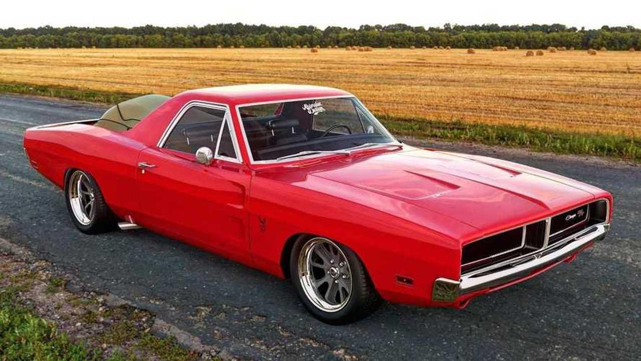 Classic Dodge Charger Ute \'Hellcamino\' Boasts Hellcat Power
