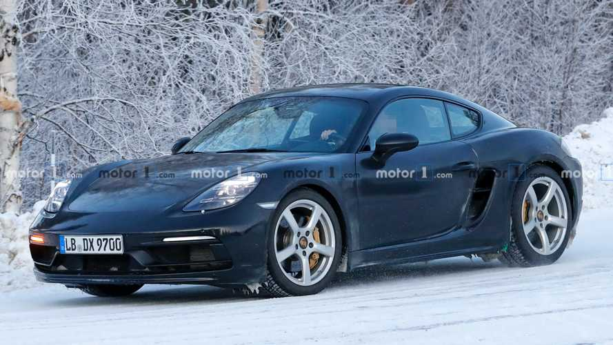 Porsche 718 Cayman GTS 4.0 Spied For First Time