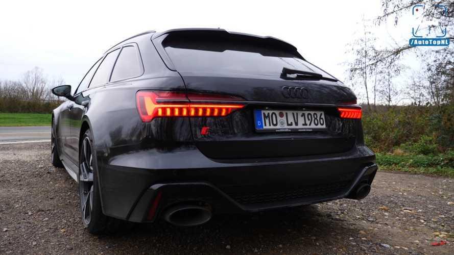 VIDÉO - Les accélérations musclées de l'Audi RS 6 Avant