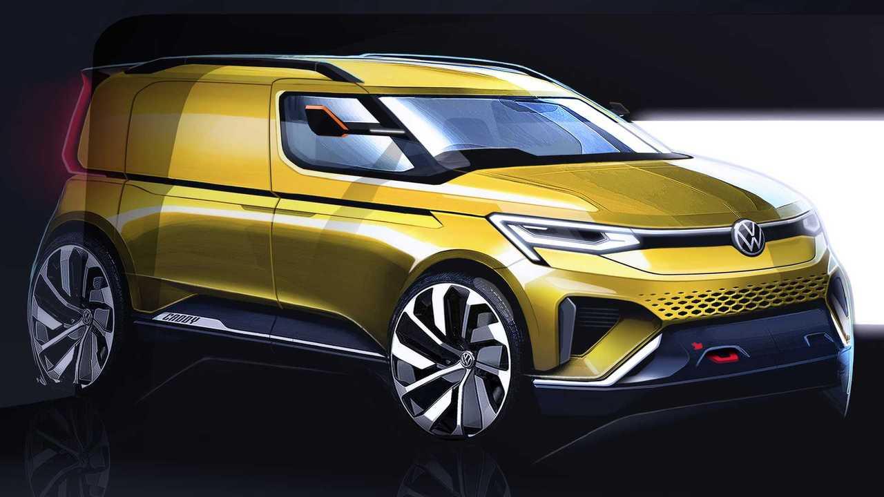 2020 VW Caddy teaser lead