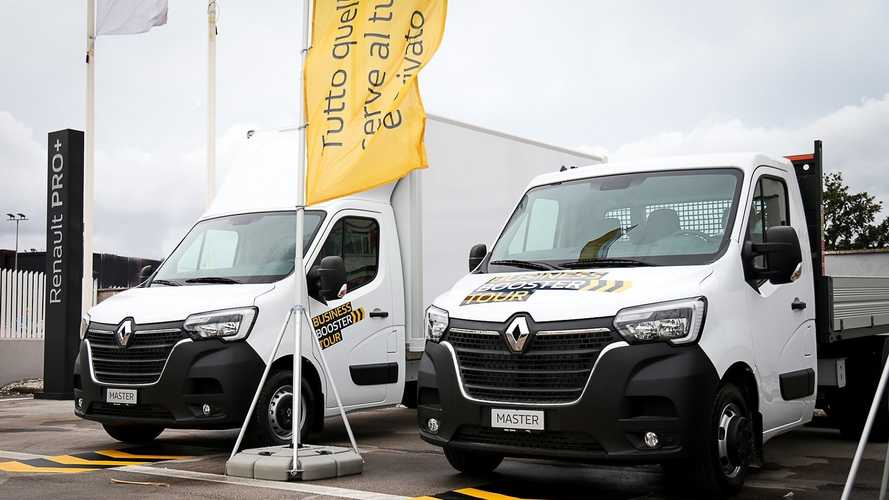 Renault presenta il Business Booster Tour 2020