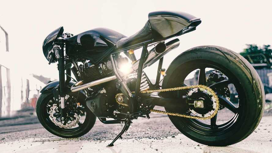 The Royal Raven Is A Custom Continental GT 650 Built For The Track